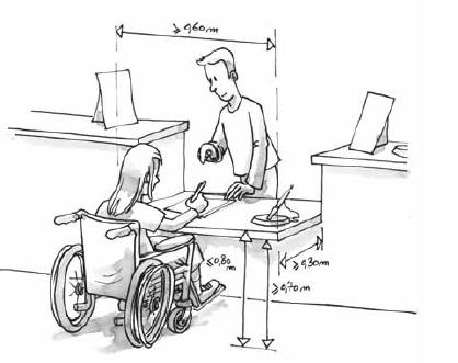 accueil handicapé