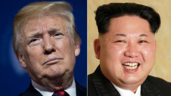 Donald Trump et Kim Jung Un