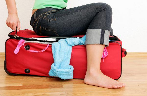 les bons vêtements et bagages