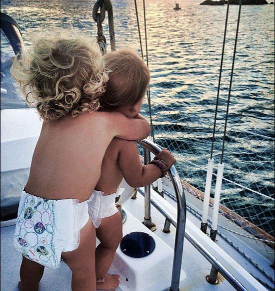 enfants et filets de sécurité