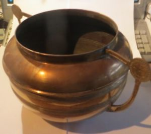 marmite en cuivre