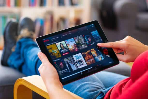 visionner film sur tablette